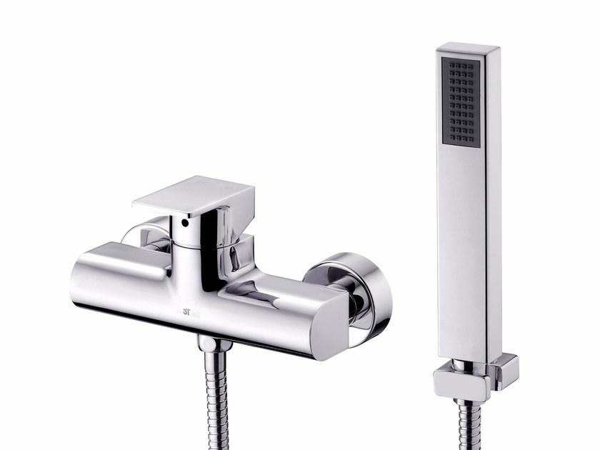 Single handle shower mixer with hand shower ARCH | Shower mixer with hand shower by JUSTIME