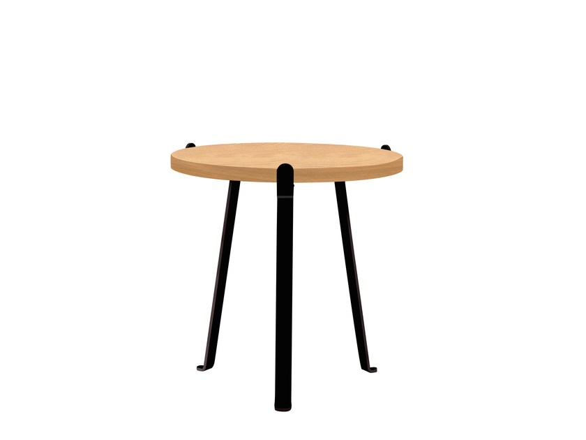 Round side table ARCH | Side table by Novel Cabinet Makers