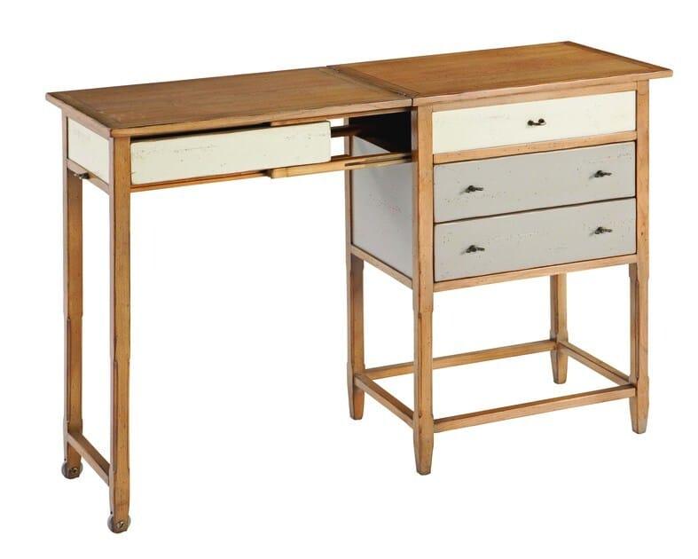 secr taire en cerisier architecte collection nouveaux classiques by roche bobois. Black Bedroom Furniture Sets. Home Design Ideas
