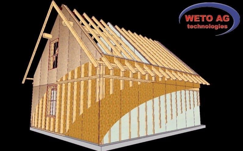 Tetti e Case in legno