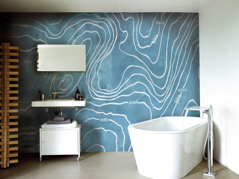 Motif wallpaper ARCTIC WIND by Wall&decò
