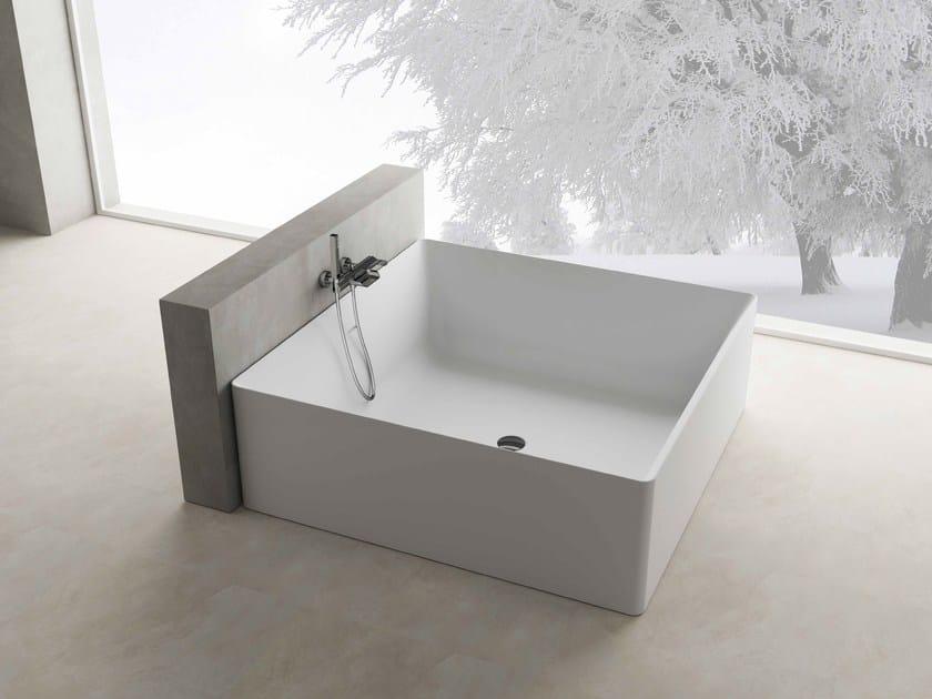 Vasca da bagno centro stanza quadrata ARIAL - Flora Style