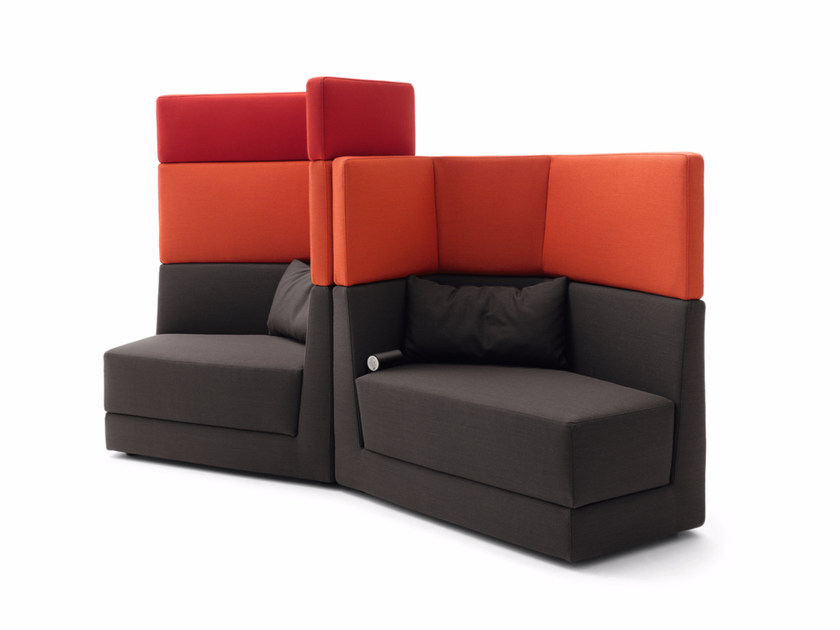 High-back fabric armchair SCOPE | Armchair - COR Sitzmöbel Helmut Lübke