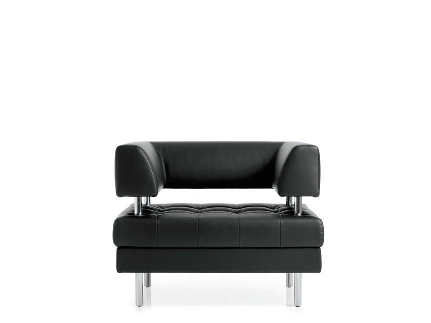 Armchair with armrests MILO | Armchair - Emmegi
