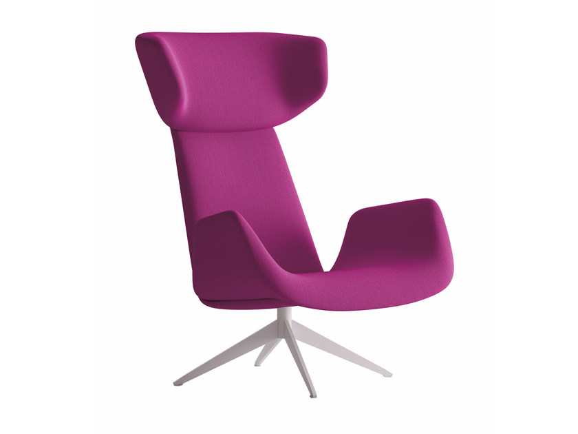 Wingchair with armrests MYPLACE | Armchair with armrests by La Cividina