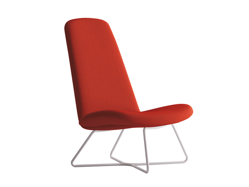 Sled base armchair MYPLACE | Armchair - La Cividina