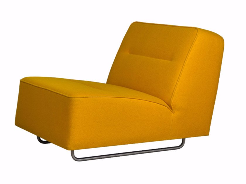 Fabric armchair WAVE | Armchair - Palau