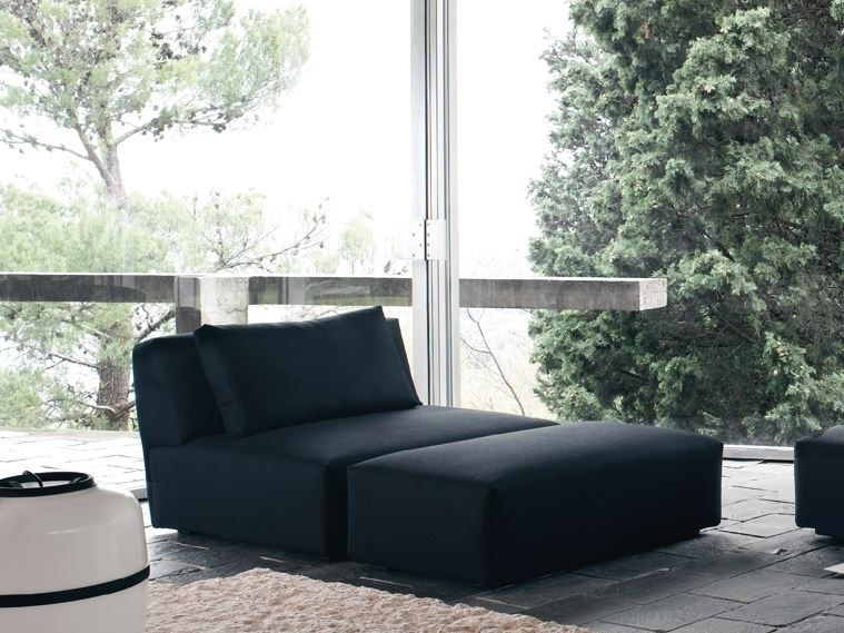 Fabric armchair with removable cover ITACA | Armchair by Verzelloni