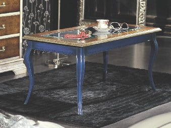 Low lacquered coffee table ARMONIE | Rectangular coffee table - Arvestyle