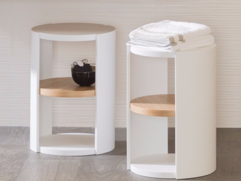 Wooden bathroom cabinet / bathroom stool ARO | Bathroom stool - Systempool