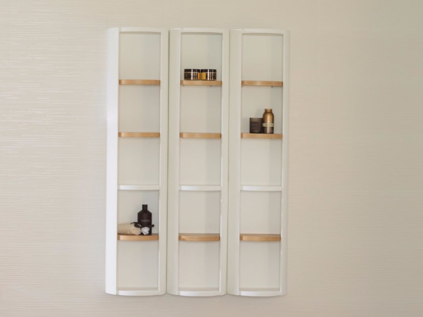 Suspended wooden bathroom cabinet ARO | Bathroom cabinet - Systempool