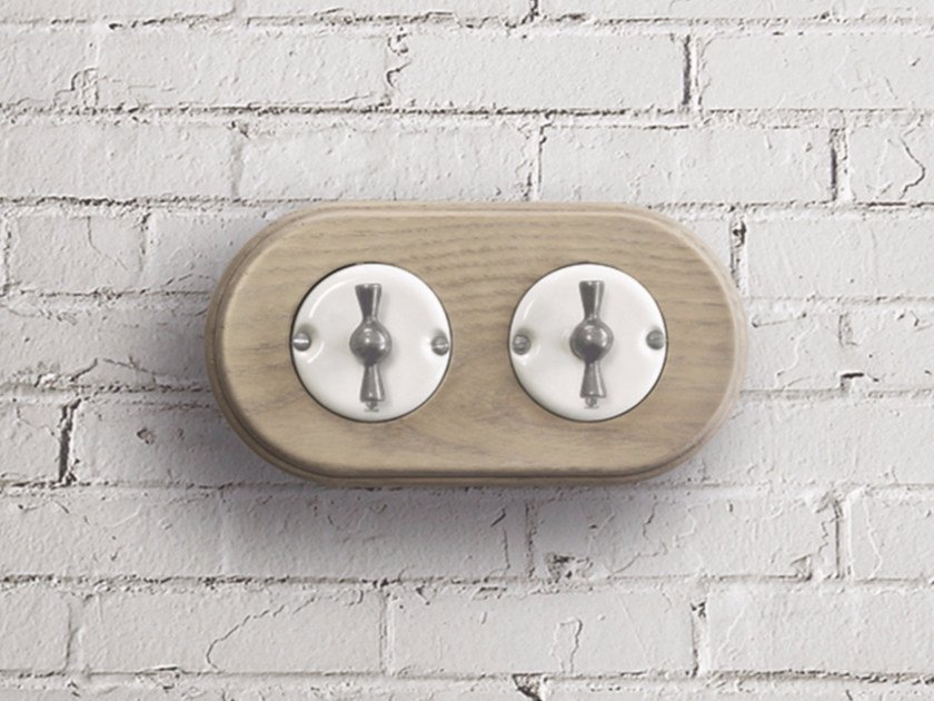 Electrical socket ARREDA ROUND - 2 - GI Gambarelli