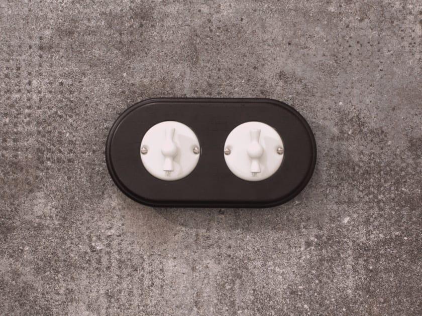 Electrical socket ARREDA ROUND - 3 - GI Gambarelli