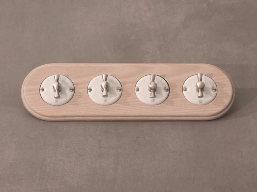 Electrical socket ARREDA ROUND - 7 by GI Gambarelli
