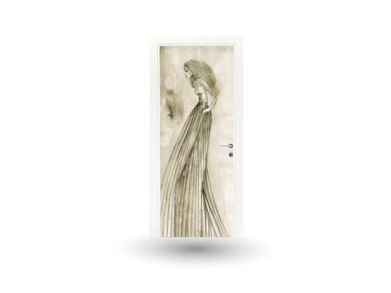 Hinged lacquered door ART 110A - GD DORIGO