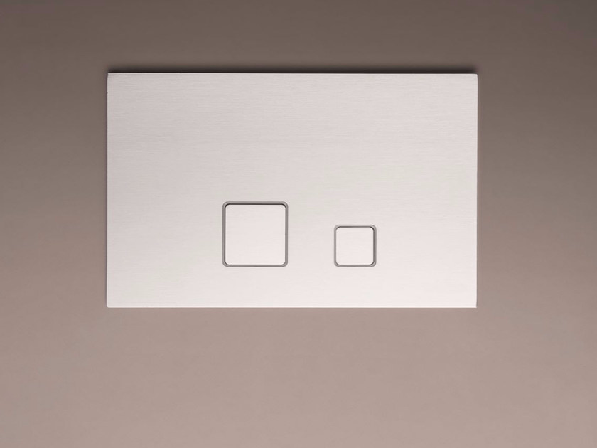 Contemporary style chrome-plated metal flush plate ART. 8403 | Flush plate by Fantini Rubinetti