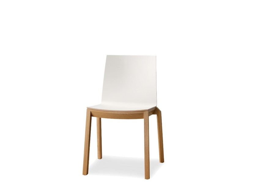 Stackable laminate chair ARTA | Chair by Wiesner-Hager