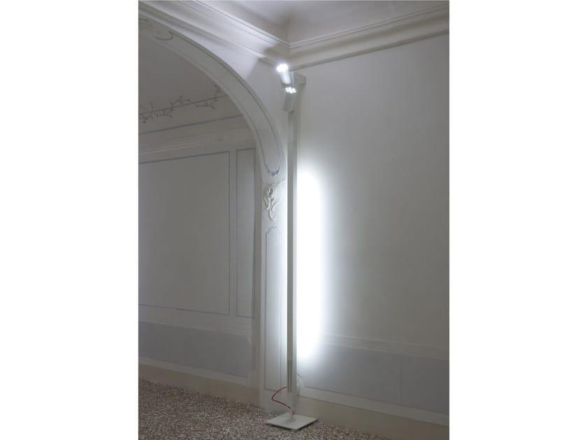 Adjustable metal floor lamp ARTÈ - GLIP by S.I.L.E