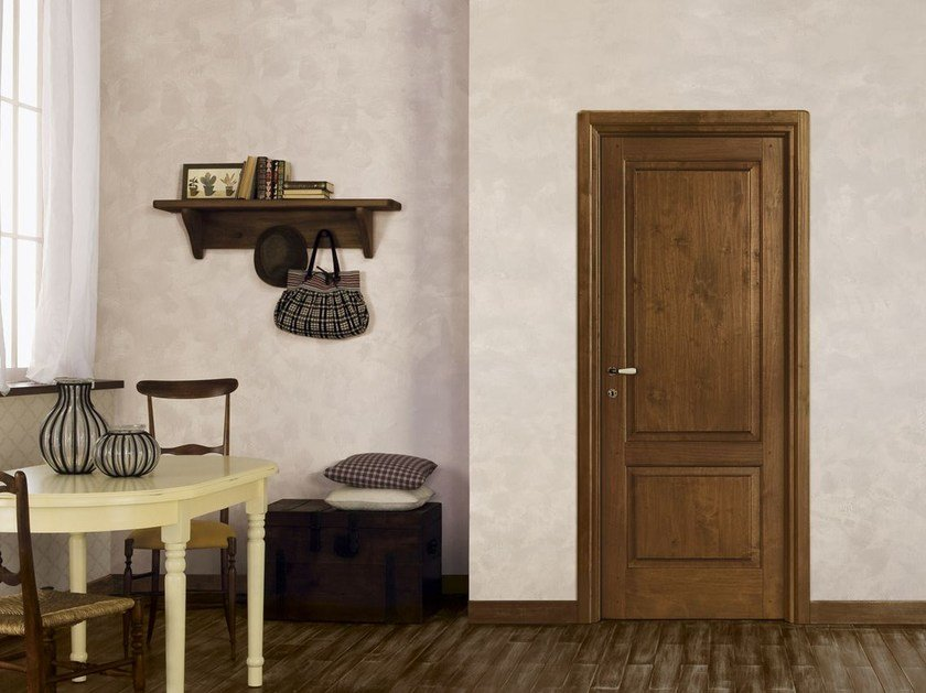 Solid wood door ARTE POVERA - LEGNOFORM