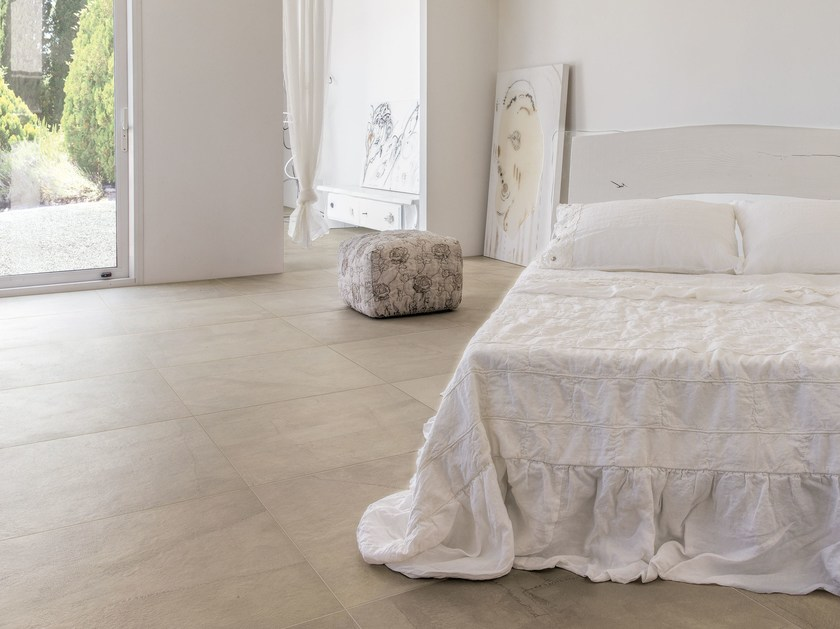 Porcelain stoneware wall/floor tiles with textile effect ARTE PURA TRAME by Ceramiche Refin
