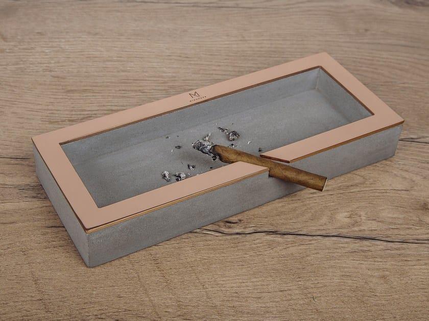 Cement ashtray MINSHAPE   Ashtray by Baltic Promo