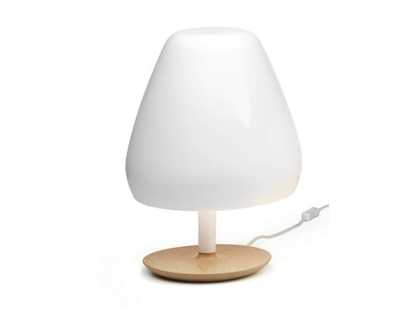 LED ceramic table lamp ASPEN | Ceramic table lamp by ALMA LIGHT