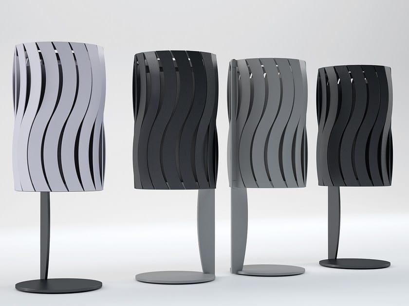Galvanized steel waste bin ASTERIX by CITYSì