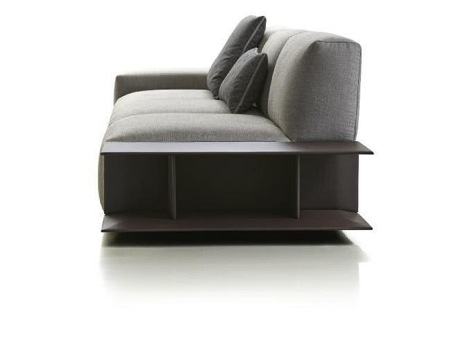 Fabric sofa with removable cover ASTON   Sofa by Papadatos