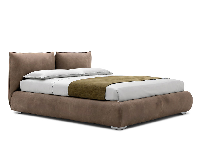 Upholstered double bed ASTOR - Silenia