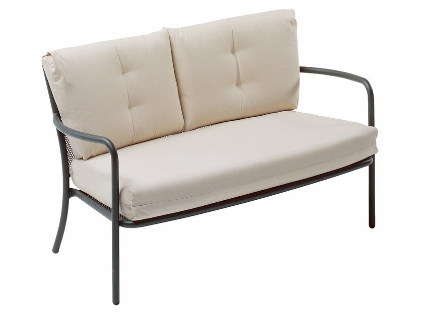 2 seater steel garden sofa ATHENA | 2 seater sofa - EMU Group S.p.A.