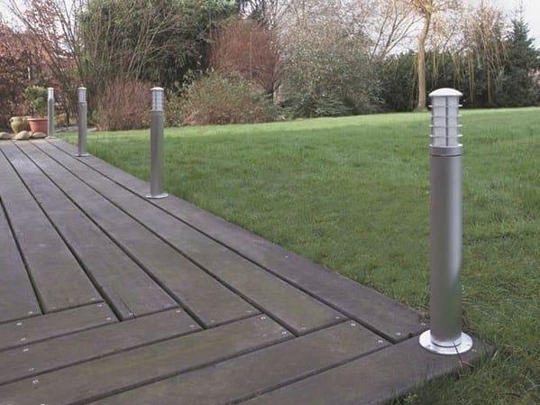 Garden metal bollard light ATLANTIC FL - BEL-LIGHTING