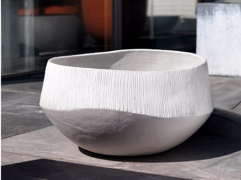 Terracotta vase ATLANTIS NATURAL - Domani