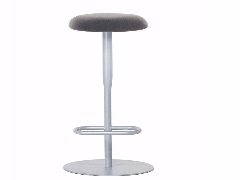 High swivel stool with footrest ATLAS STOOL - 760 by Alias