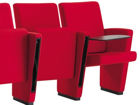 Auditorium seats with writing tablet AUDITORIUM   Auditorium seats with writing tablet by Sesta