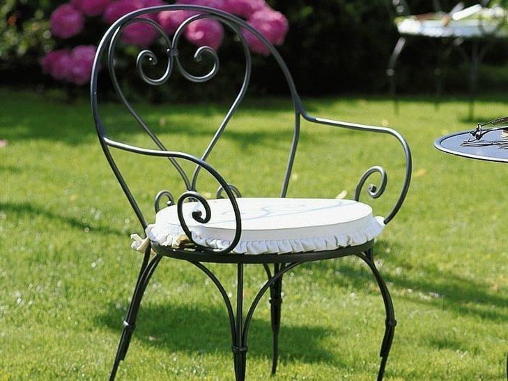 Outdoor fabric chair cushion AURORA | Chair cushion by Unopiù