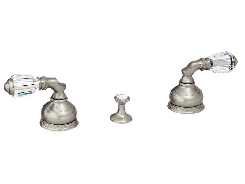 3 hole bidet tap with Swarovski® crystals AUSTRAL   3 hole bidet tap - Bronces Mestre
