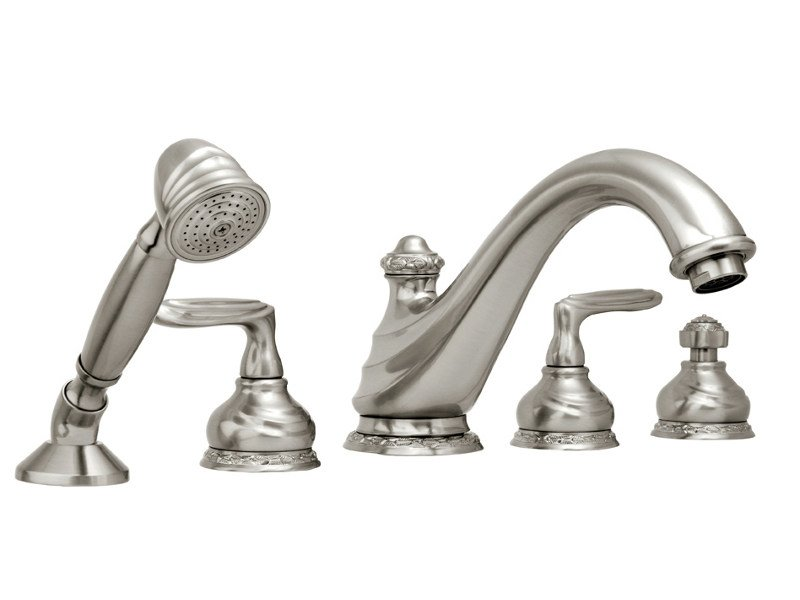 5 hole bathtub set AUSTRAL | Bathtub set - Bronces Mestre