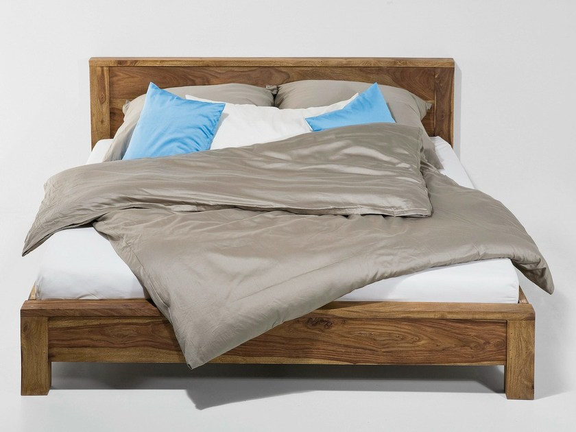 Wooden double bed AUTHENTICO | Bed - KARE-DESIGN