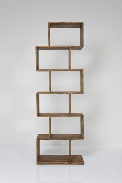 Open wooden bookcase AUTHENTICO ZICK ZACK 180 - KARE-DESIGN