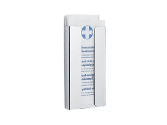 Dispenser sacchetti igienici in acciaio AV0420 | Dispenser sacchetti igienici - INDA®