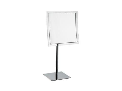 Specchio ingranditore quadrato da appoggio AV058Q | Specchio ingranditore - INDA®