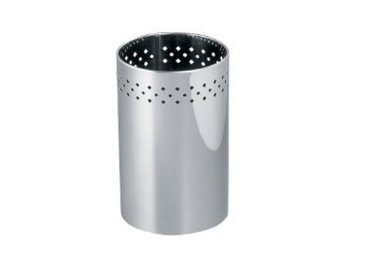 Metal Bathroom waste bin AV4010 | Bathroom waste bin - INDA®