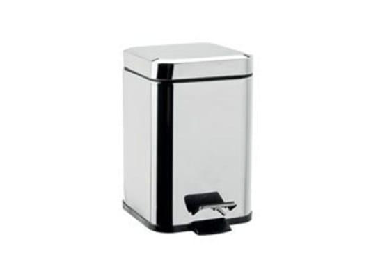 Public bathroom waste bin AV402A-B | Public bathroom waste bin by INDA®