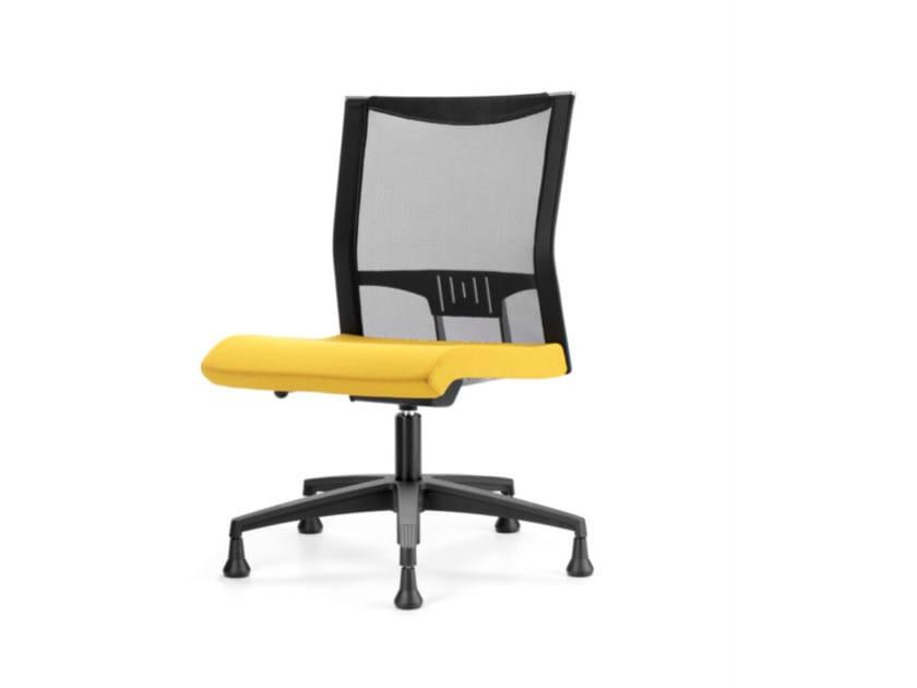 Sedia ufficio operativa girevole in rete a 5 razze AVIANET 3650 - TALIN
