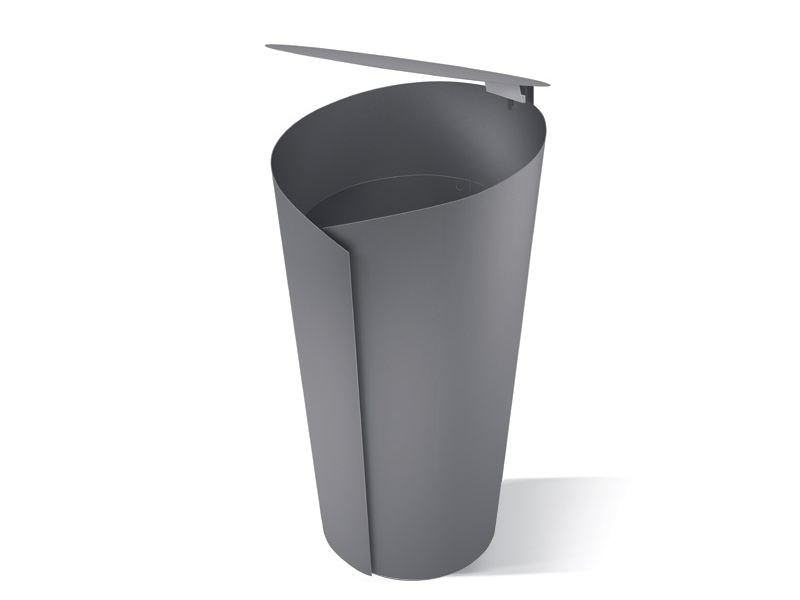 Steel waste bin AVO - LAB23