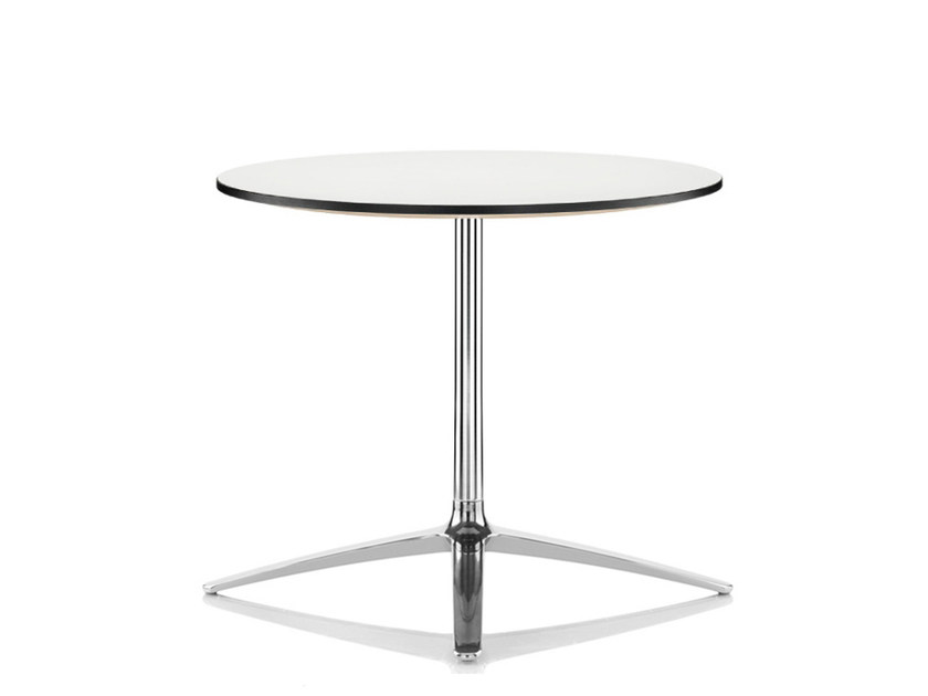Lacquered round table AXIS | Lacquered table - Boss Design