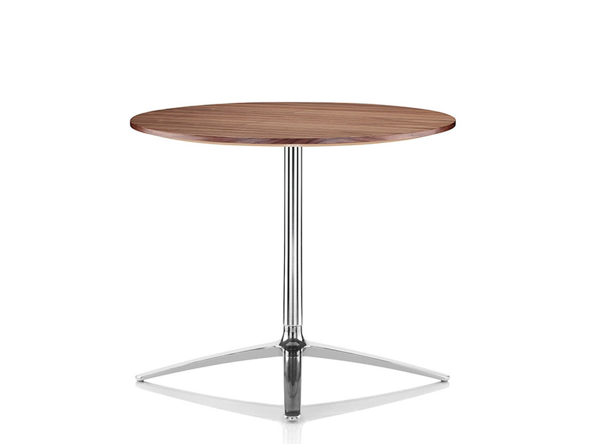 Round melamine table AXIS | Melamine table by Boss Design