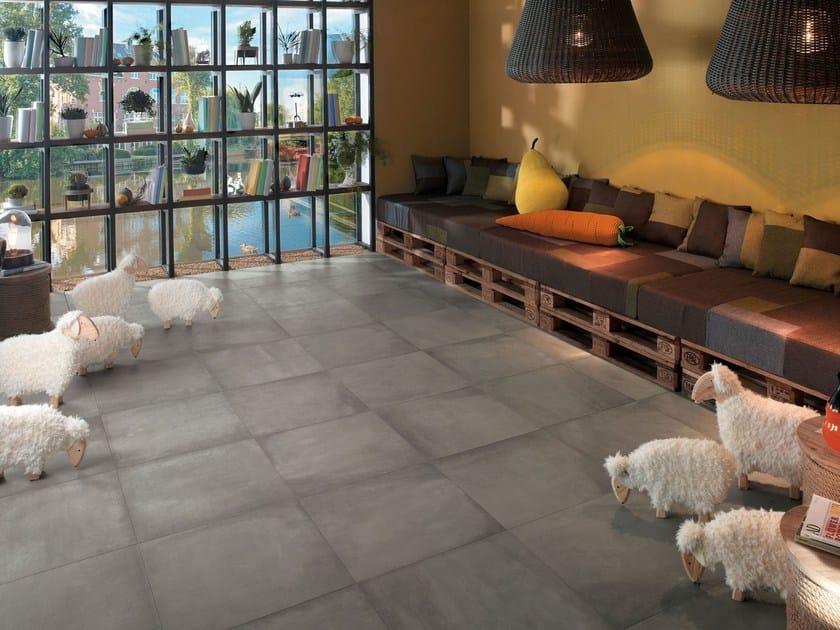Pavimento/rivestimento effetto cemento AZIMUT CHAUD by NOVOCERAM