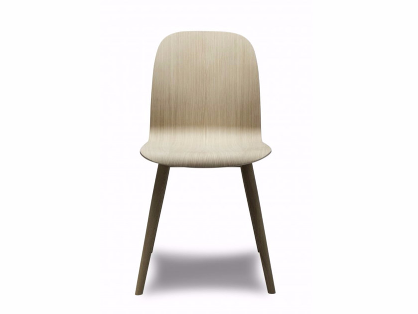 Wood veneer chair BOSTON - Danerka