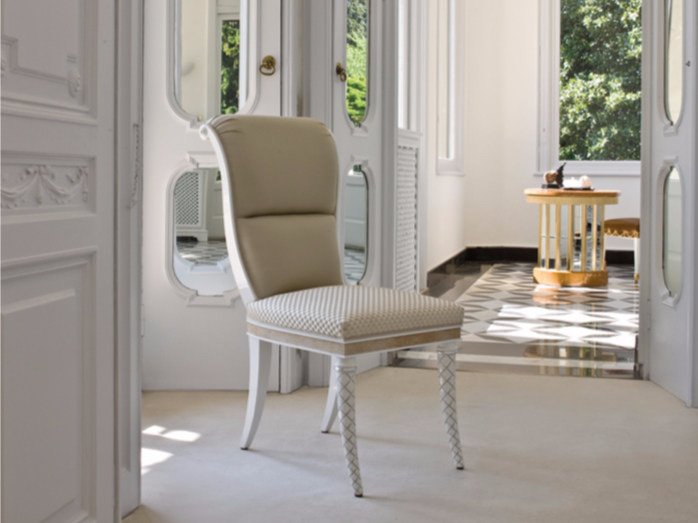 Upholstered fabric chair B109 | Chair - Rozzoni Mobili d'Arte